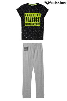 Missimo Boys 'Parental Advisory' PJ Set