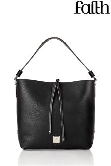 Faith Stud Fitting Hobo Handbag