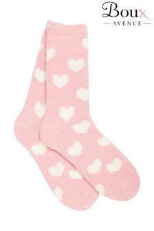 Boux Avenue Heart Print Socks