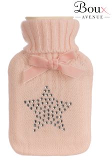 Boux Avenue Diamanté Star Hot Water Bottle