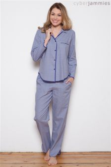 Cyberjammies Connie Spot Print PJ Set