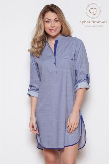 Cyberjammies Connie Spot Print Night Shirt