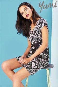 Yumi Floral Jersey Dress