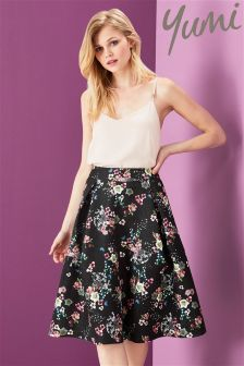 Yumi Oriental Botanical Skirt