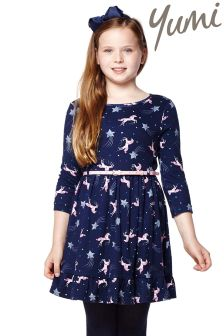 Yumi Girl Printed Jersey Dress
