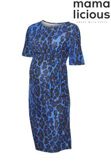 Mamalicious Maternity Short Sleeve Midi Dress