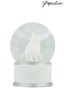 Paperchase Large Snow Globe
