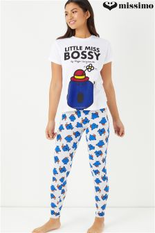 Missimo Little Miss Bossy Ladies PJ Set