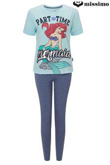 Missimo Ladies Little Mermaid PJ Set