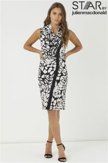 Star By Julien Macdonald Print Midi Dress
