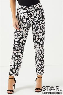 Star By Julien Macdonald Animal Print Trousers