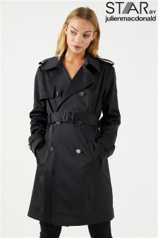 Star By Julien Macdonald Short Trench Mac