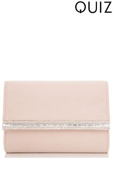 Quiz Jewel Edge Bag