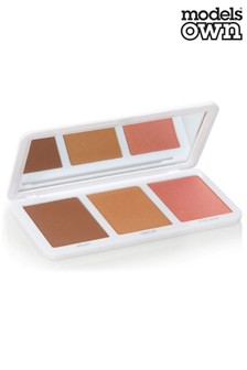 Models Own Sculpt & Glow Contour Palette Tan To Deep