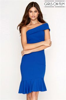 Girls On Film One Shoulder Dress