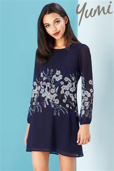 Yumi Botanical Stardust Placement Tunic
