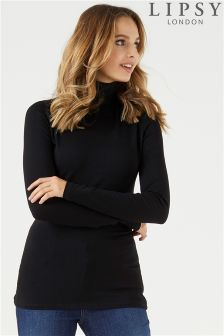 Lipsy Roll Neck Long Sleeve Top