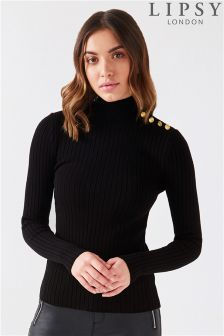 Lipsy Military Button Jumper