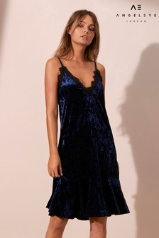 Angeleye Velvet Cami Dress