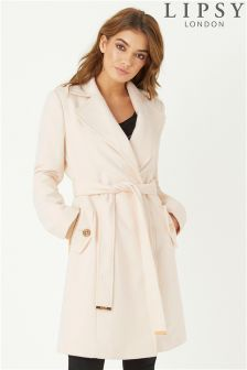Lipsy Belted Wrap Coat