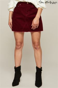 Miss Selfridge Cord A line Skirt