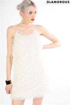Glamorous Fringed Cami Mini Dress