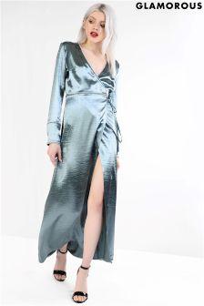 Glamorous Wrap Front Maxi Dress