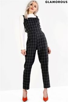 Glamorous Check Jumpsuit