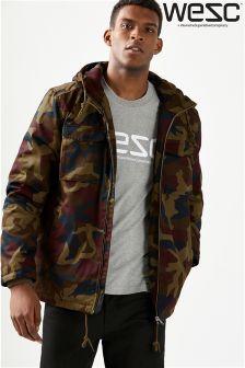 WESC Camo Field Jacket