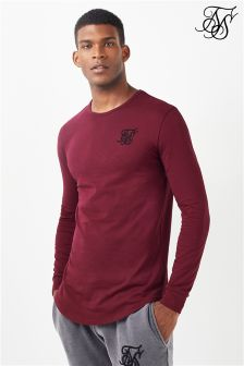 Siksilk Long Sleeve Gym Tee