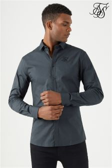 Siksilk Cotton Stretch Shirt