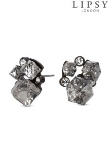 Lipsy Geometric Crystal Cluster Earring