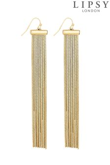 Lipsy Slinky Chain Drop Earring