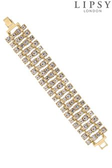 Lipsy Crystal Statement Bracelet