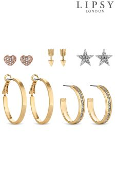 Lipsy Celestial Crystal Earring Set