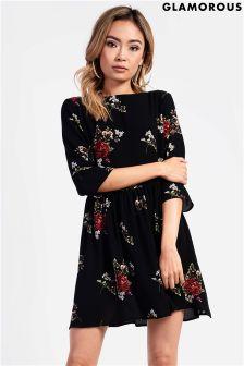 Glamorous Petite Printed Dress
