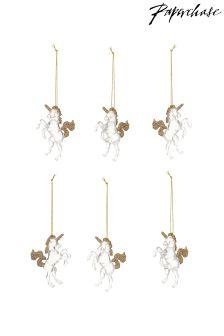 Paperchase Mini Navity Decorations Set of 6
