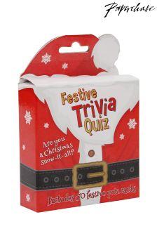 Paperchase Festive Christmas Trivia Quiz