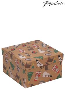 Paperchase Christmas Characters Large Box