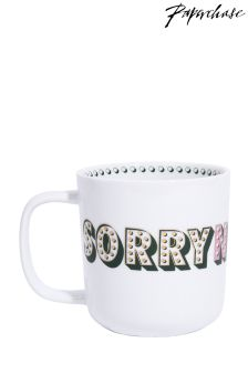 Paperchase Ceramic Mug Sorry Not Sorry
