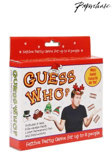 Paperchase Christmas theme guess who game