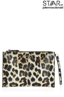 Star By Julien Macdonald Leopard Clutch