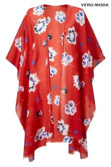Vero Moda Floral Holiday Kimono
