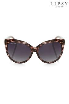 Lipsy Tortoise Shell Cateye Sunglasses