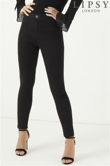 Lipsy Short Length High Rise Skinny Jeans