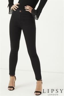 Lipsy Selena Super Stretch High Rise Skinny Jeans