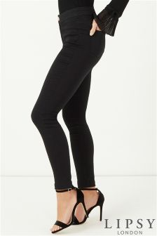 Lipsy Long Length High Rise Skinny Jeans