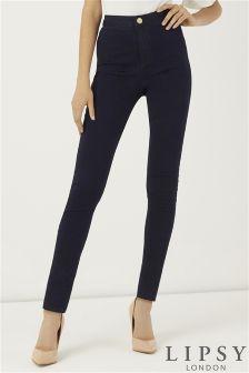 Lipsy Short Length High Rise Skinny Jeans