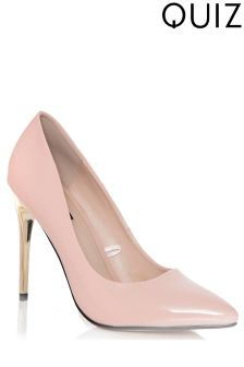 Quiz Patent Heel Plated Court