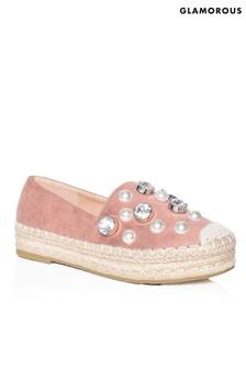 Glamorous Pearl Espadrilles